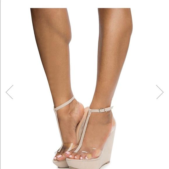 cce1dbcd2b4 Fashion Nova Shoes - New Fashion nova nude wedges